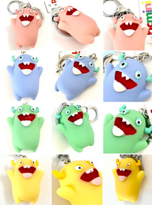 12007 MONSTER CHARM with keyring-12