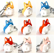 Load image into Gallery viewer, 12005 CORGI CHARM with keyring-12