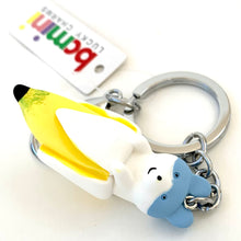 Load image into Gallery viewer, 12009 BANANA DOG CHARM with keyring-12
