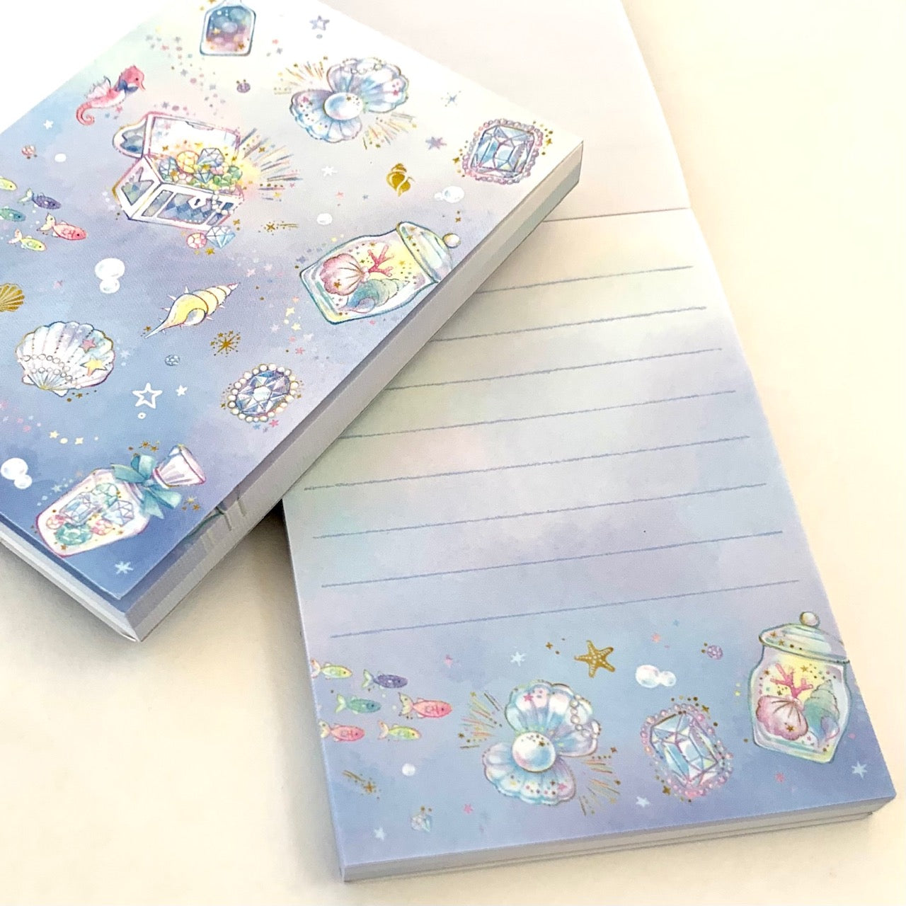 14523 Qlia Seashell Petit Notepad-DISCONTINUED