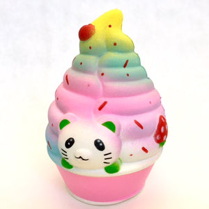 83313 CAT ICE CREAM SQUISHY-slow soft-6