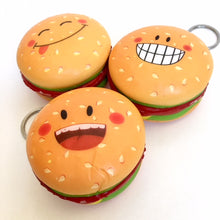 Load image into Gallery viewer, 83321 HAMBURGER KEY RING SQUISHY-slow soft-10