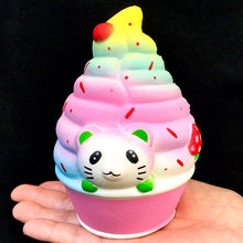 Load image into Gallery viewer, 83313 CAT ICE CREAM SQUISHY-slow soft-6
