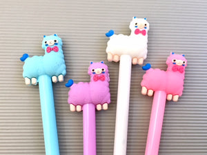 22246 ASSORTED LLAMA Gel Pen-DISCONTINUED