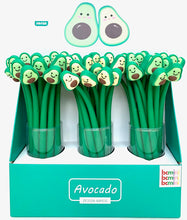 Load image into Gallery viewer, 22375 AVOCADO WIGGLE BUDDY GEL PEN-48