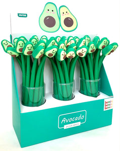 22375 AVOCADO WIGGLE BUDDY GEL PEN-48