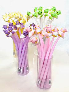 22378 BIRD WIGGLE GEL PEN-48