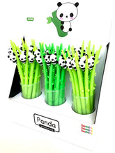 Load image into Gallery viewer, 22389 PANDA BAMBOO WIGGLE GEL PEN-48