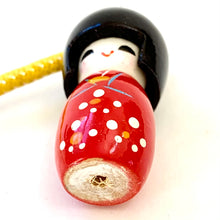 Load image into Gallery viewer, 70793 Wooden Kokeshi Doll Charm-10
