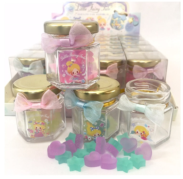 15226 QLIA Little Fairy Tale Bottle Mini-Erasers