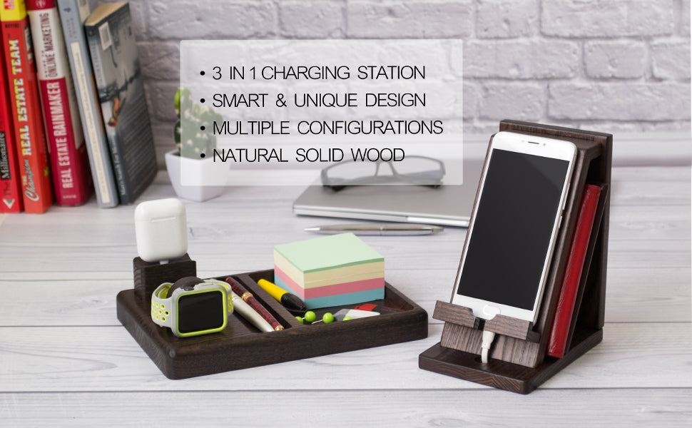 Magnetic Clip Charging Station