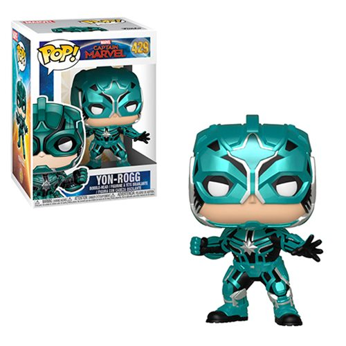 Captain Marvel Star Commander Pop! Vinyl Figure
