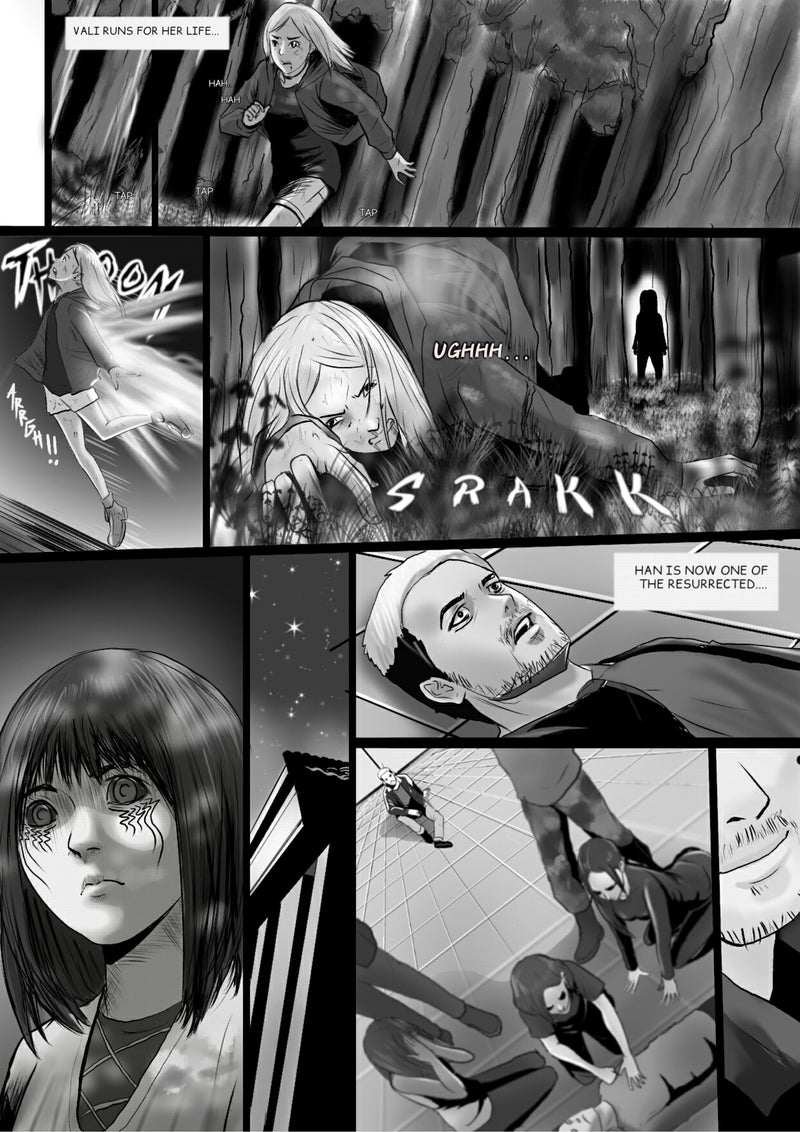 Chosen Kin Apocalypse: Interactive Graphic Novel