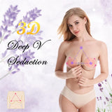 Popular Adhesive Bare Bring Up Push Breast Boob Lift Nipple Cover Pasties Bra Shield Invisible Sticker