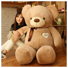 Load image into Gallery viewer, LOVE Bear Plush toys Teddy bear doll Hug the bear doll
