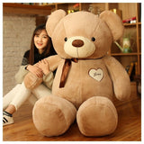 LOVE Bear Plush toys Teddy bear doll Hug the bear doll