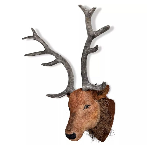Deer head Natural Wall Hanging Sticker 240867