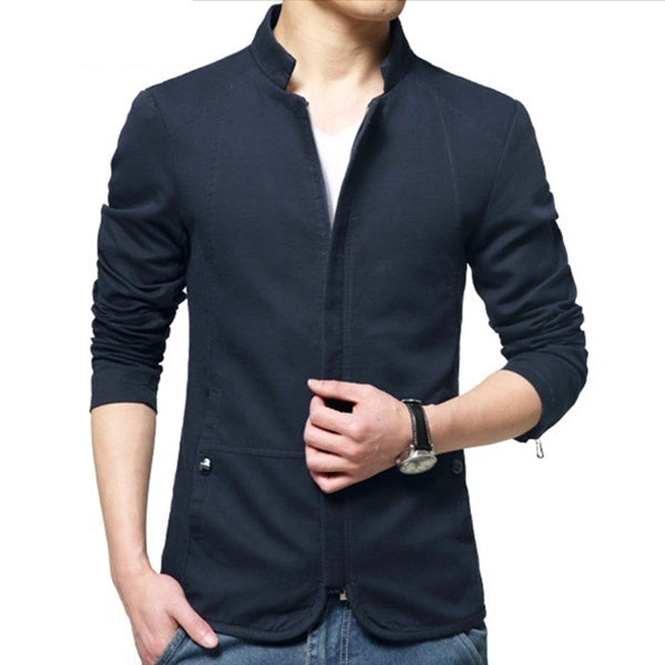 4 Colors Men Bomber Jacket Spring Autumn Casual Male Coat Slim Fit Blazers Brand Clothing