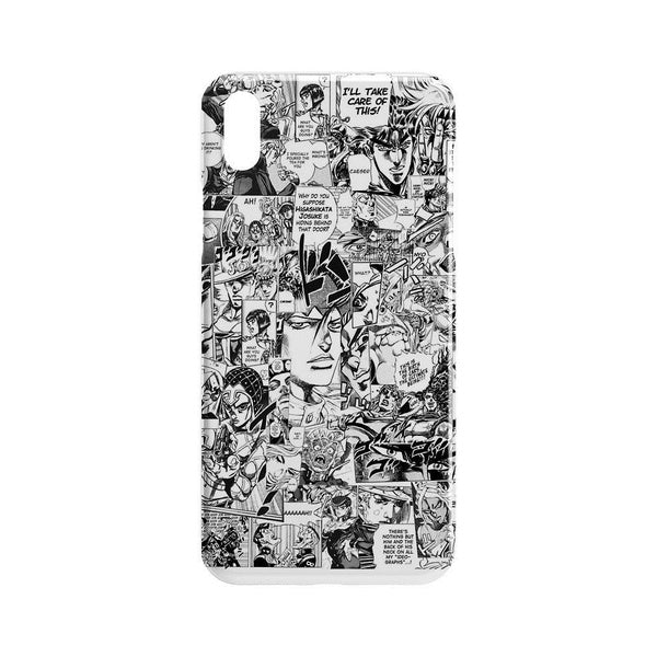 Jojos Bizarre Adventure Drawing Art Phone Back Case For iPhone X 4 5 6 7 8 Plus Case Skin For Samsung Galaxy