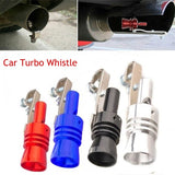 S/M/L/XL Universal Turbo Sound Simulator Whistle Car Exhaust Pipe Whistle Vehicle Exhaust Pipe Sound Muffler