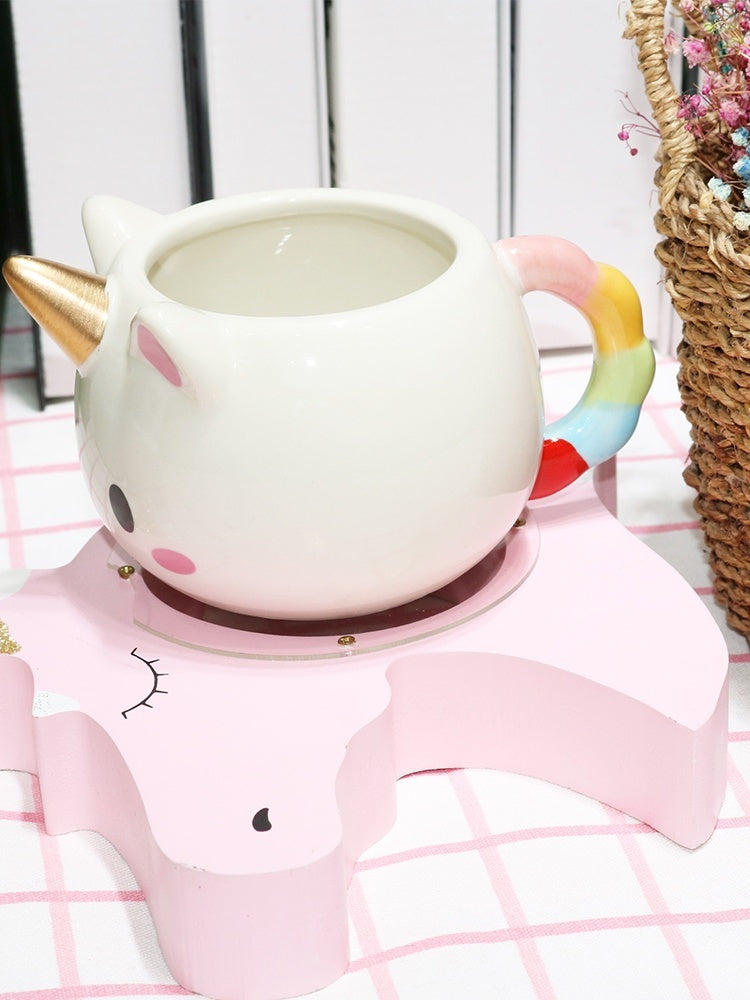 2019 New Cute 3D Unicorn Mug Fashion Cartoon Cup Home Decoration Best Holiday Gift