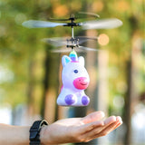5.7inch LED Flying Helicopter Infrared Flashing Light Aircraft Induction Children Toy