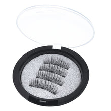 Load image into Gallery viewer, 1 Set 3D Magnetic Fake Eye Lashes Makeup+1p Clip Magnetic Eyelashes Natural False Eyelashes Women Beauty Eye Makeup Tool Set