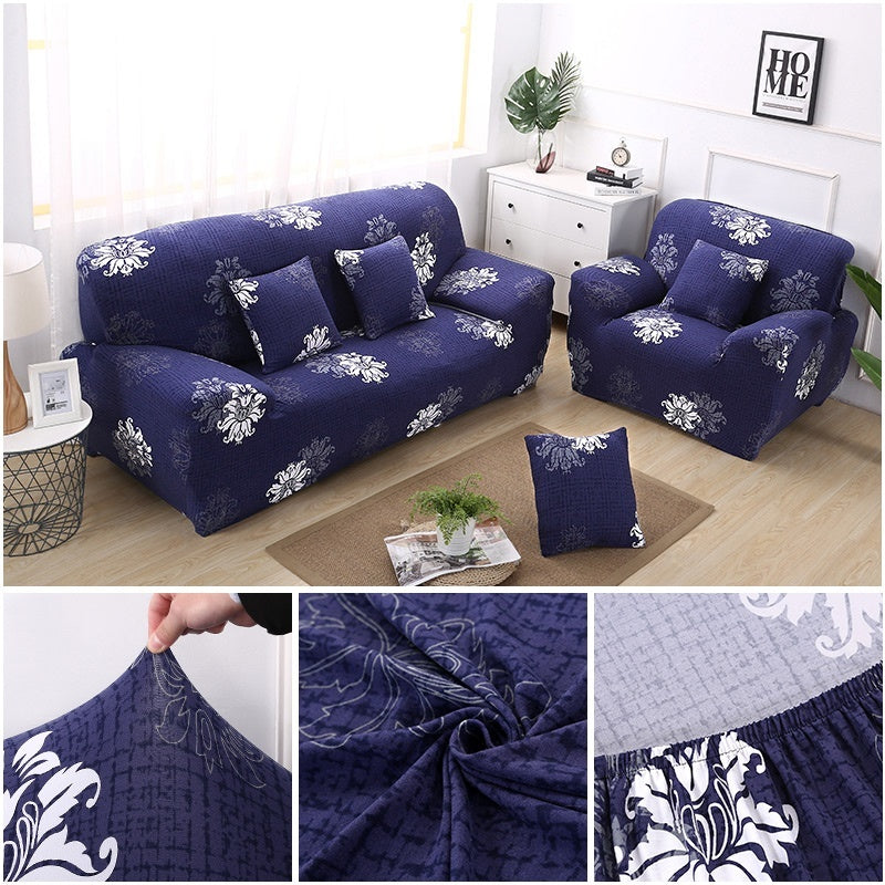 Fashion 1/2/3 Seater Sofa Cover Stretch Soft Ployester Fabric Elastic Sofa Protector Couch Covers