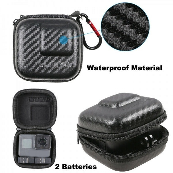 1Pc Waterproof EVA Hard Shell Carry Case Portable Storage Bag For GoPro Hero Camera