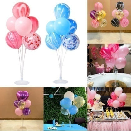 1/ 2/ 3 Pack Balloon Stands for Table Birthday Baby Shower Wedding Decoration by Party Zealot