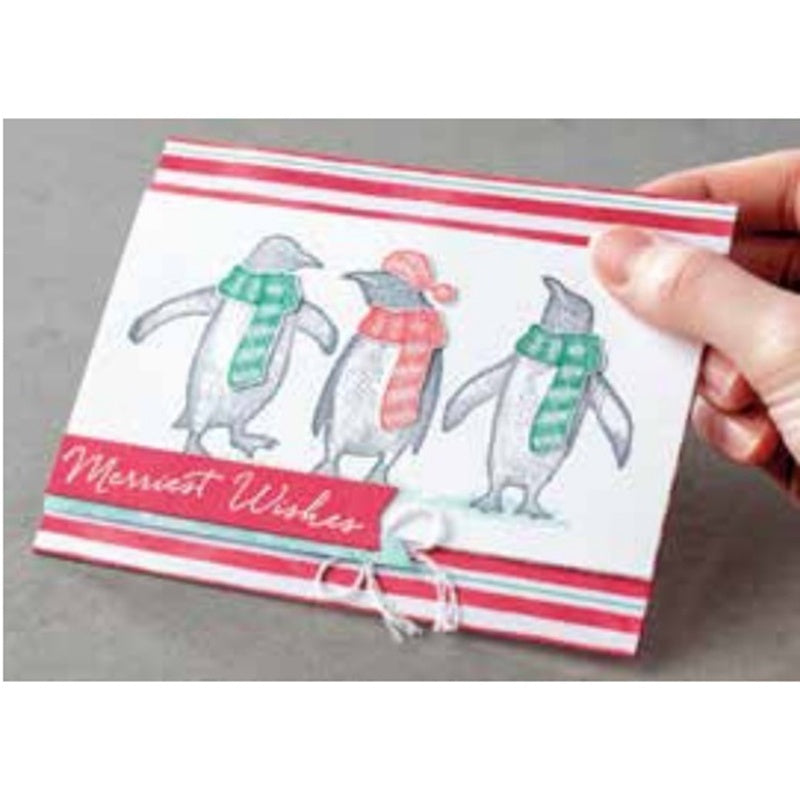 penguin Metal Cutting Dies and stamps DIY Scrapbooking Card Stencil Paper Cards Album Decoration Paper Cards Decoration