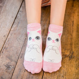 Cartoon Women's Socks Wild Cute Puppy Boat Socks Sweat Deodorant Socks