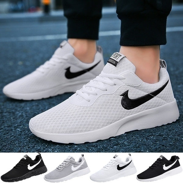 New Brand Size 36-47 Women/men Mesh Running Shoes Light-weight Walking Running Shoes Casual Sport Shoes