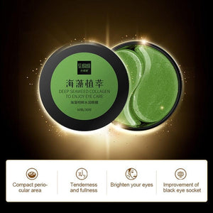 romu?Eye Treatment Mask Eye Gel Patches Anti-Aging Eye Pads with Collagen & Hyaluronic Acid for Reduce Dark Circles Puffiness Eye Bags Wrinkles