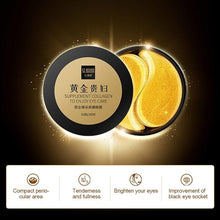 Load image into Gallery viewer, romu?Eye Treatment Mask Eye Gel Patches Anti-Aging Eye Pads with Collagen & Hyaluronic Acid for Reduce Dark Circles Puffiness Eye Bags Wrinkles