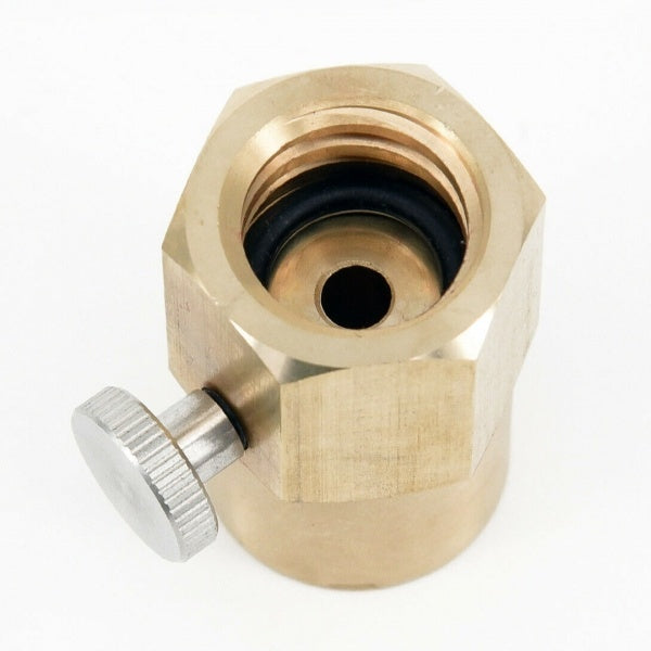 CO2 Bottle Transfer Adapter For Filling Sodastream Soda Club Water Sprinkler TR21-4 to W21.8