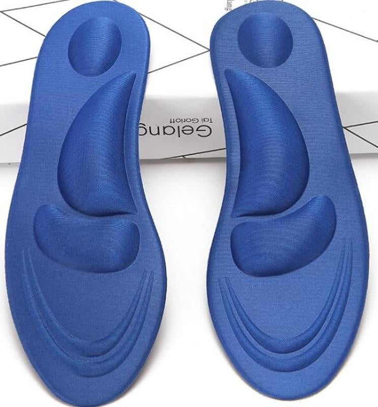 4D Orthotic Arch Support Unisex Insoles Sport Comfort Shoe Shock Absorb Gel Heel