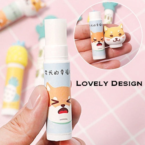 1PC Fruit Flavor Lip Balm Jelly Colorless Anti-Cracking Moisturizing Optional Suitable Unisex Lip Care Baby Lips