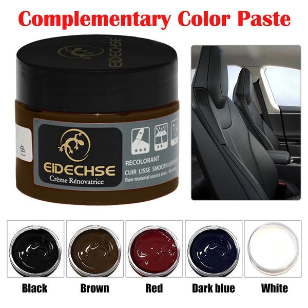 Leather Recoloring Balm Renew Restore Repair Tool Color Wash Scratched Leather for Shoes Sofas Bags