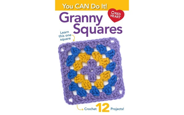125503 LEISURE ARTS YOU CAN DO GRANNY SQUARE BK