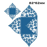 1PC Xmas Metal Steel Wedding Candy Box Fold Cutting Dies Stencil For DIY Scrapbooking Album Paper Card Photo Decorative Craft 82x62mm