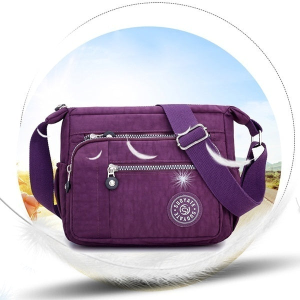 New Fashion Women Messenger Bags Nylon Waterproof Crossbody Shoulder Bag Casual Travel Handbags summerdai