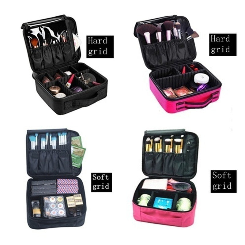 Women Cosmetic Makeup Cosmetic Organizer Bag Folding Travel Makeup Organizer Bag Cosmetic Bag