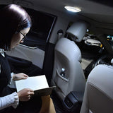 2019 Car Interior Reading Light Auto USB Charging Roof Magnet Auto Day Light Trunk Drl Square Dome Vehicle Indoor Ceiling Lamp
