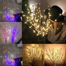 Load image into Gallery viewer, 1pc Branch Shaped LED Lights Christmas Wedding Xmas Party Decor