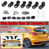 Car Rear Trunk Spoiler Wing Riser Lift Extension Kit For Ford Focus ST Hatchback 4Dr 2013-2019 For Focus RS 2016-2019