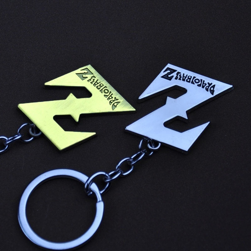 Dragon ball Z logo key chain pendant dragon ball Z animation peripheral Saiyan pendant key chain