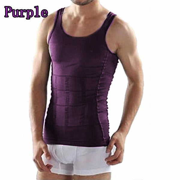 New Men Body Slimming Tummy Shaper Belly Underwear shapewear Waist Girdle Shirt
