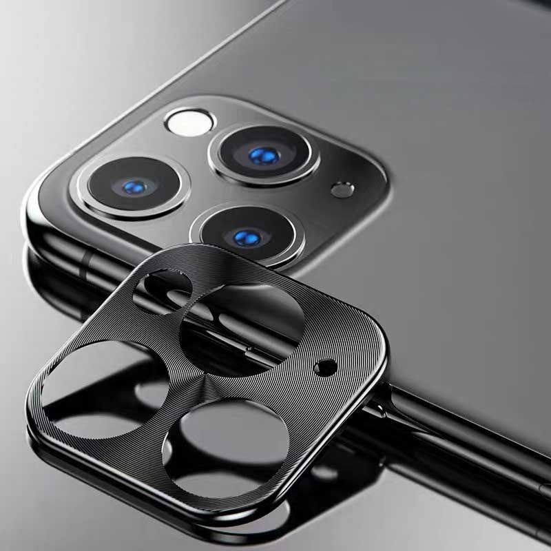 YAYUU Camera Lens Protective Film for IPhone 11/11Pro/11 Pro Max Metal Camera Len Protector Cover Ultra-thin Camera Cover