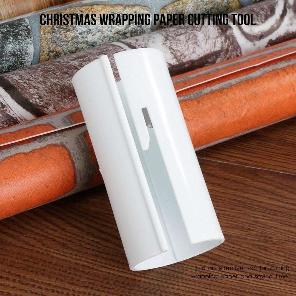 Wrapping Paper Cutter Christmas Wrapping Paper Cutting Tool Mini Cutter Cutter